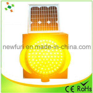 300mm-Yellow-LED-Flashing-Solar-Traffic-Warning-Light(1)