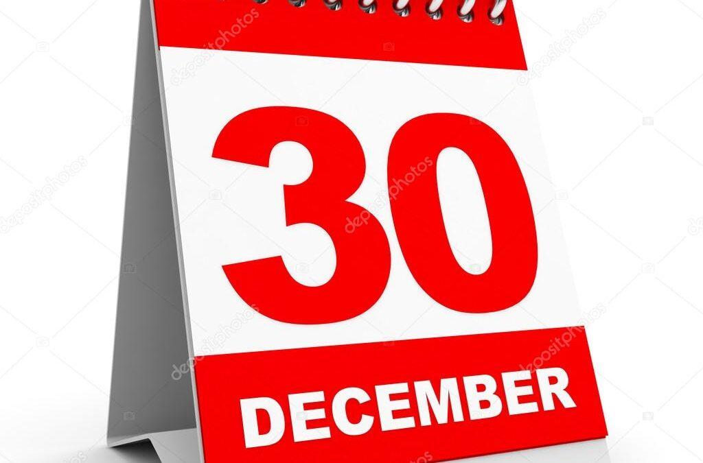 30 December Resume 2019 del 2 Fribiljetter och fler team klara.