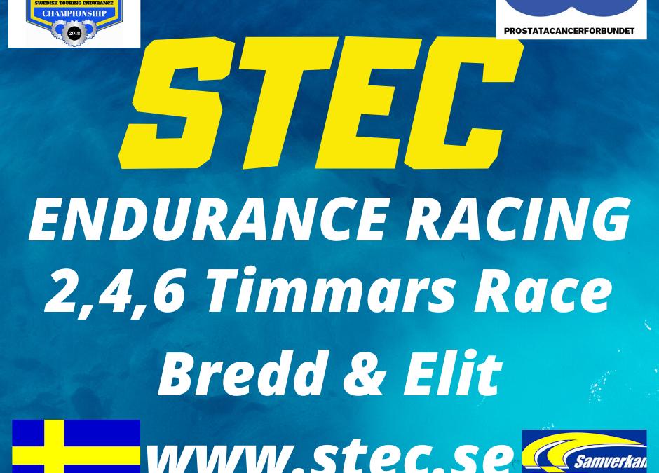 STEC Blogg April.  Fruktansvärt agerat, Racing info , Light Info , Test Info