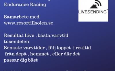 Måndag före finalen. Bokade biljetter , Sponsrad Live Sändning , Möte inför 2020 , Gotland Ring,  Middag   Läs bloggen och dela den vidare