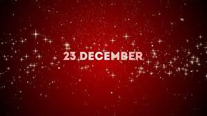 Julbloggen 23 December med återblick del 1
