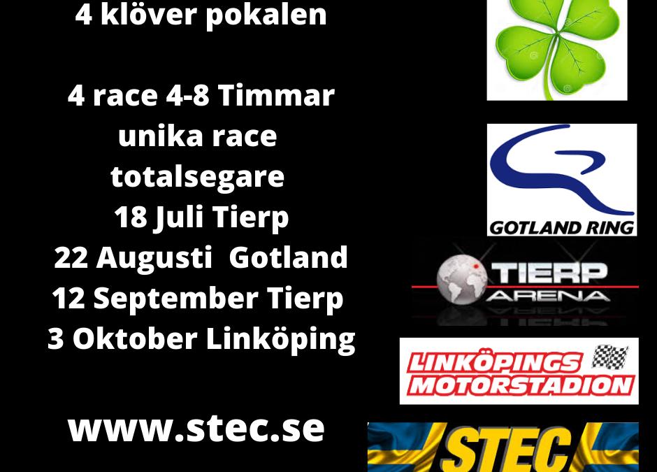 Bloggen 1 Juni  4 klöver race , Pay&Drive  , Sommar racet  Nationaldagen 6 Juni