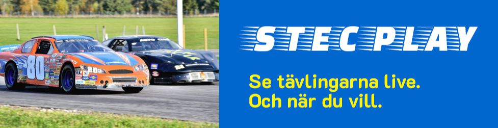 STEC Bloggen med Pins , Gotland , Ledworks Sweden och Live race reklam .
