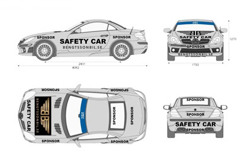 Bloggen 16 November. 1000 kr reserabatt för team med många mil.  1000 kr rabatt för nya team och Bilder har läckt ut på nya Saftey car.